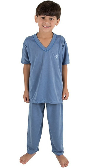 Kit 2 Pijama Infantil Masculino Verão Roupas-meninoa Tacado