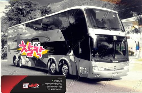 Paradiso Dd G6 Ano 2011 Scania K420 Jm Cod.349