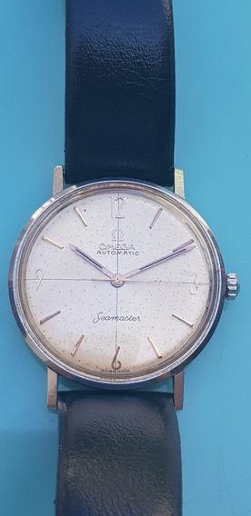 Relógio Omega Seamaster Aço, Caixa Blindada.