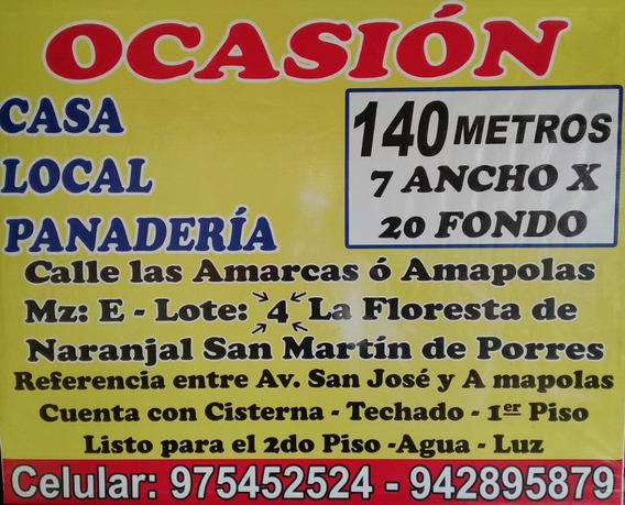 Ocasion! Vendo Casa Ideal Para Negocio 942 895879