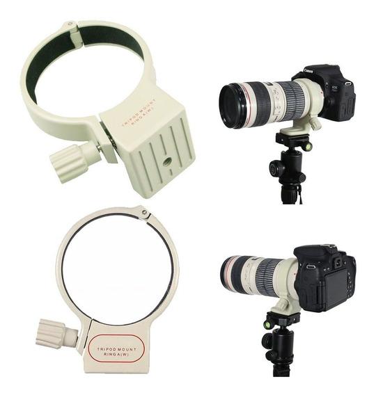 Anel Suporte Fixação Lente Canon 70-200 F4.0 300 400mm Tripé
