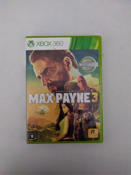Jogo Max Payne 3 Mídia Física Xbox 360