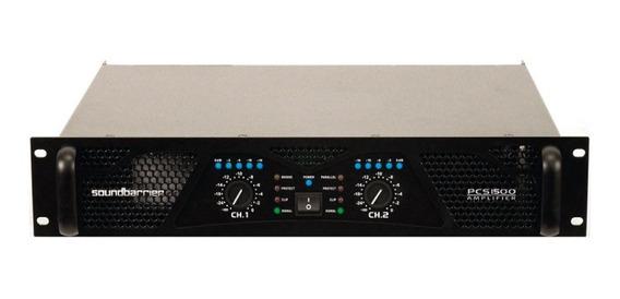 Amplificador Power Soundbarrier Pcs1500 ( Leer Antes)