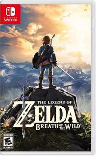 The Legend Of Zelda Breath Of The Wild Nintendo Switch