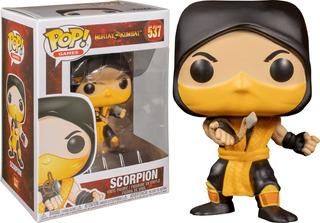 Funko Pop! Scorpion #537 Mortal Kombat Games