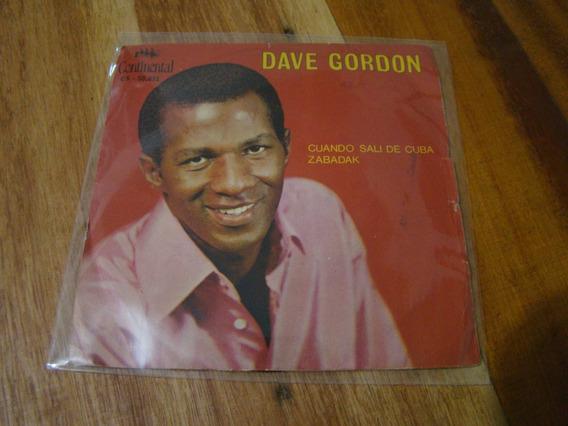 Compacto Dave Gordon Cuando Sali De Cuba