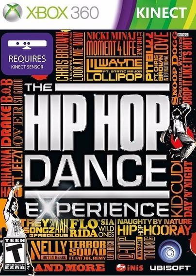 Jogo Hip Hop Dance Experience Xbox360 Ntsc Em Dvd Original