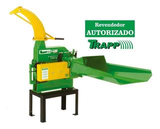 Picadeira Ensiladeira C/ Motor A Gasolina 16hp Trapp Es 650g