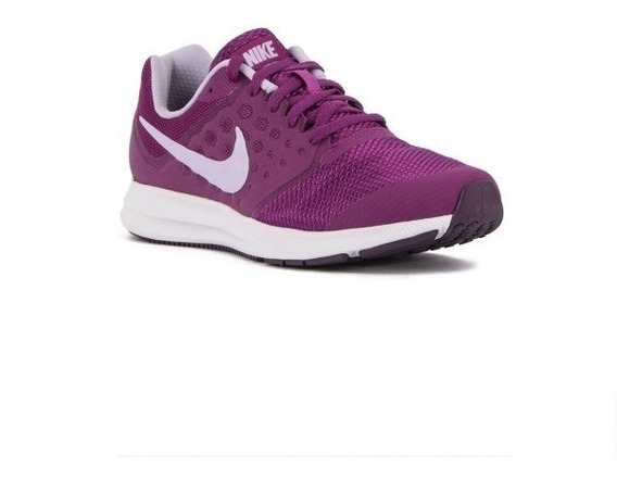 Tenis Nike Downshifter 7 Mujer Morado Fucsia Correr Gym
