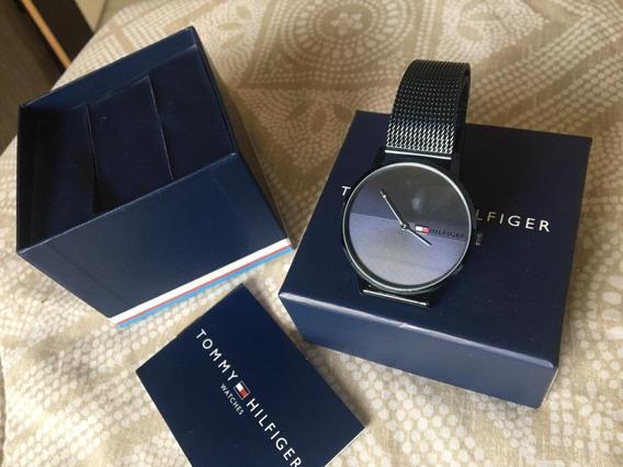 Relógio Unissex Azul Tommy Hilfiger