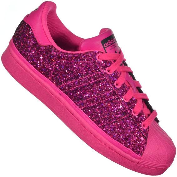 Tênis adidas Superstar-rosa