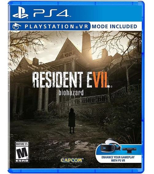 Resident Evil 7 - Ps4 Mídia Física Lacrado Em Português
