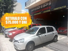 Renault Clio 1.2 Mio Confort Plus Abs Abcp 2014 Con 27.000km