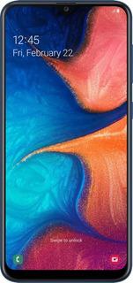 Celular Liberado Samsung A20 Sm-a205g 4g 6.4 Azul