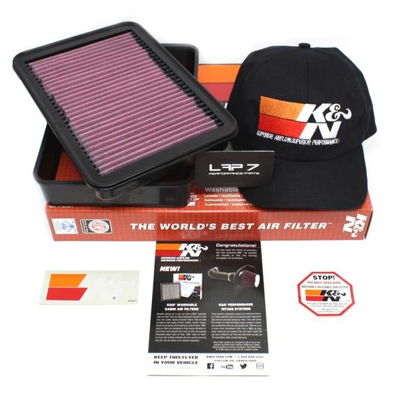 Filtro De Ar Esportivo Inbox K&n Mitsubishi Lancer | Evo | Ralliart | Asx | Outlander | Até 2012 Kn 33-2392