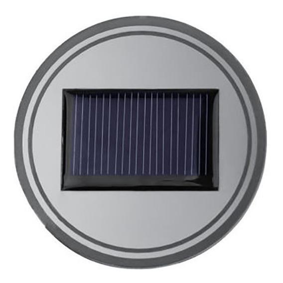 1 Pcs Copo Solar Pad Acessórios Do Carro Levou Luz Tampa Dec