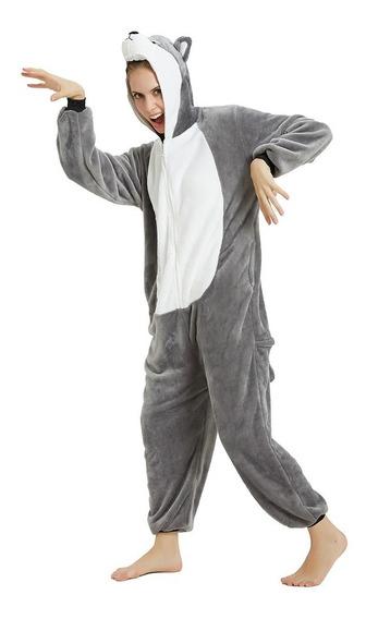 Pijama Kigurumi Enterito Disfraz Unicornio Adultos Niños