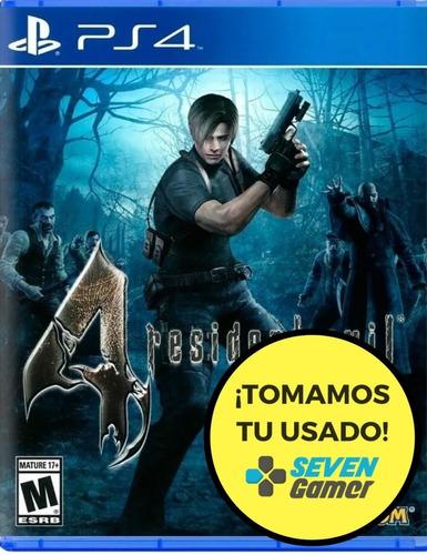 Resident Evil 4 Hd Ps4 Fisico Sellado Nuevo Canje Sevengamer