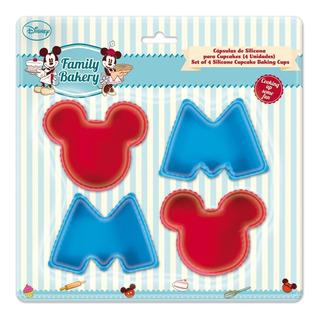 Moldes Silicon Reposteria Mickey Disney Cupcakes Pastelitos