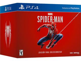 Juego Spiderman Edicion Coleccionista Marvel Ps4 Dekor