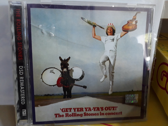 The Rolling Stones*cd*get Yer Ya-yas Out*edic. Nac.*m/bueno