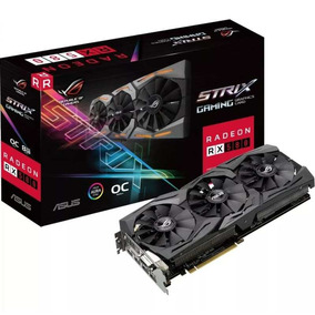 Placa De Video Vga Amd Asus Radeon Rx 580 8gb Rog-strix
