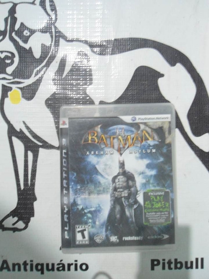 Batman Arkham Asylum Original Playstation 3