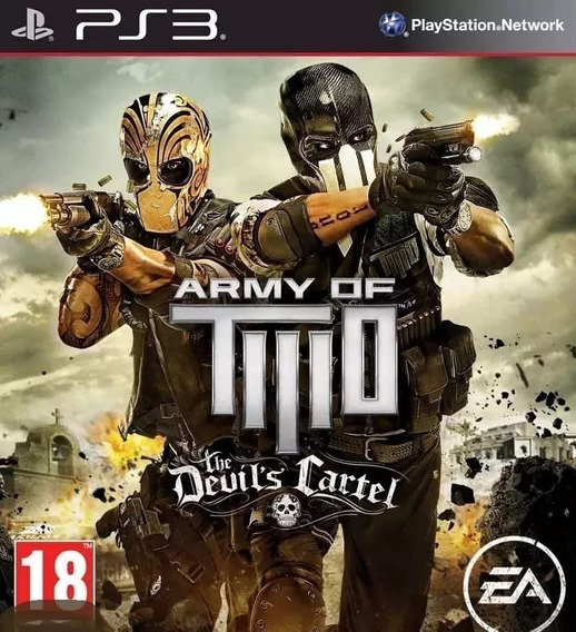 Army Of Two The Devils Cartel Psn Ps3 Envio Rapido
