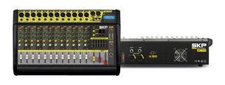 Consola Potenciada Skp Vz-120ll 12ch 2000w Bt