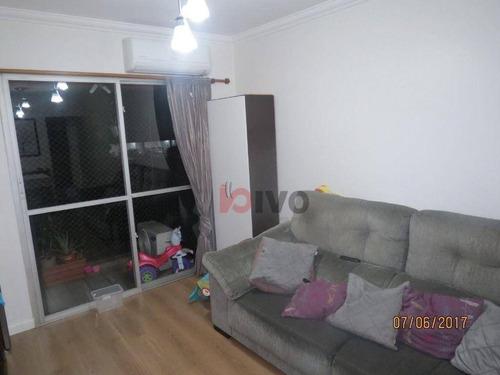Imagem 1 de 20 de Apartamento  3 Quartos, 79 M² Úteis  R$ 540.000 - Praça Da Árvore - Sp - Ap4523