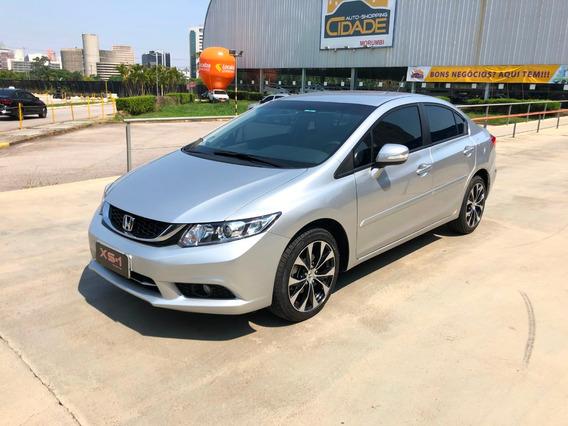 Honda Civic 2015, Lxr, 2.0, Automatico, Baixa Km, Top
