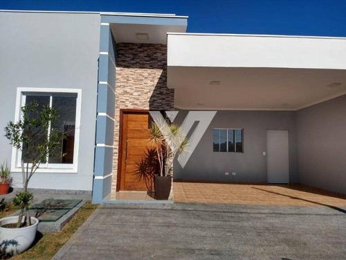 Imagem 1 de 20 de Casa Com 3 Dormitórios À Venda - Condomínio Campos Do Conde - Sorocaba/sp - Ca1903