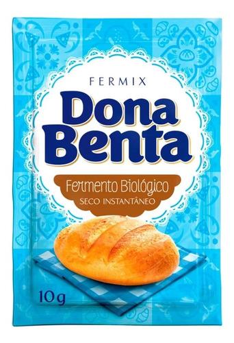 Imagem 1 de 1 de Fermento Biológico Seco Instantâneo Fermix Dona Benta 10g