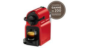Máquina De Café Inissia Ruby Red Nespresso   220v