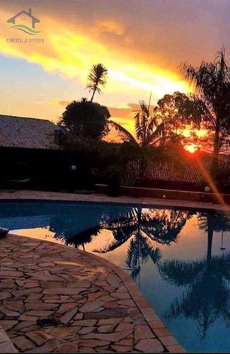 Imagem 1 de 12 de Casa De Condomínio Com 3 Dorms, Condomínio Parque Das Garças I, Atibaia - R$ 720 Mil, Cod: 2644 - V2644