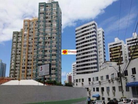 Apartamento Para Venda Pituba, Salvador 2 Dormitórios, 1 Sala, 2 Banheiros 80,00 Útil, 80,00 Total Preço: R$245.000,00 ( Vagas De Estacionamento Na Rua) - Tjn347 - 3233920