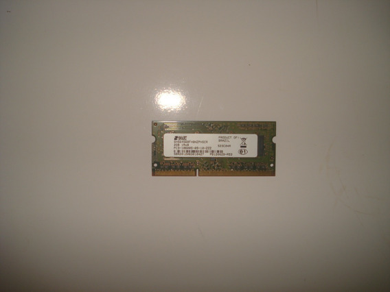 Memoria Ram Notebook 2gb Ddr3 Pc3 10600s 1333mhz Smart 1rx8
