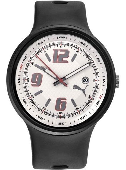Relógio Masculino Puma Analógico 69089g0pmnp3 Borracha