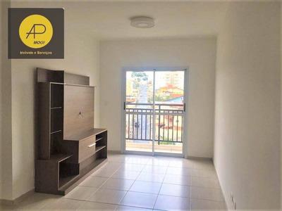 Apartamento Residencial Para Venda, Mogi Moderno, Mogi Das Cruzes. - Ap0123