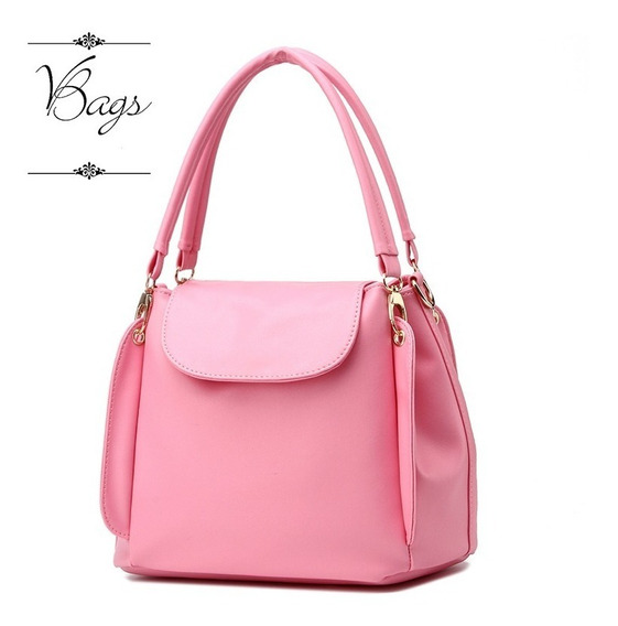 Vbags Cartera Linea Regina Simil Cuero