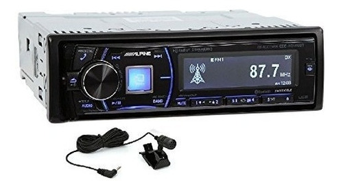 Imagen 1 de 1 de Alpine Cde-hd149bt Mono-din Bluetooth Car Stereo Con Hd Radi