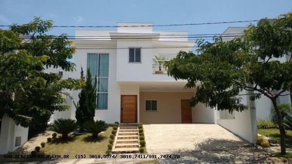 Casa Em Condomínio Para Venda Em Sorocaba, Condominio Montblanc, 4 Dormitórios, 4 Suítes, 5 Banheiros, 4 Vagas - 1090