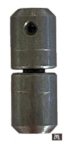Bisagra Torneada A Municion 19 X 50 Mm X Un P/ Soldar
