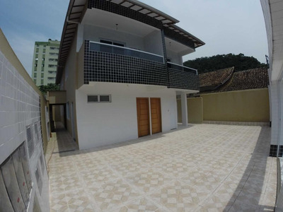Casa Com 2 Dormitórios Para Alugar, 76 M² Por R$ 1.500 - Canto Do Forte - Praia Grande/sp - Ca0194