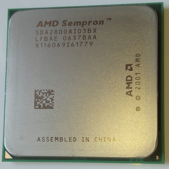 Processador Amd Sempron 2800 64 Bits Soquete 754 Pinos