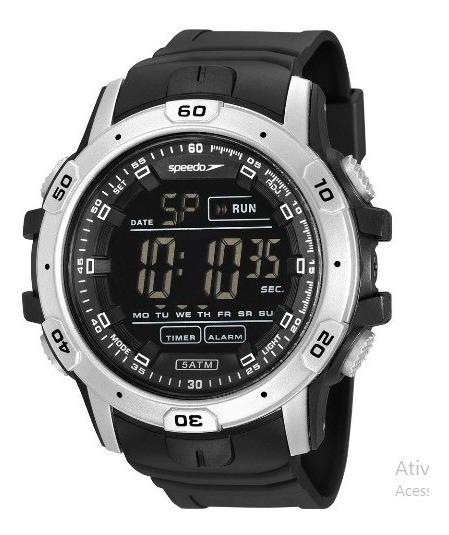 Relógio Speedo Masculino Preto 11016g0evnp1
