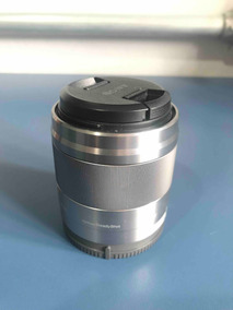 Lente Sony Sel, E-mount 50mm 1.8 Oss Prata - A7, A6500, Etc