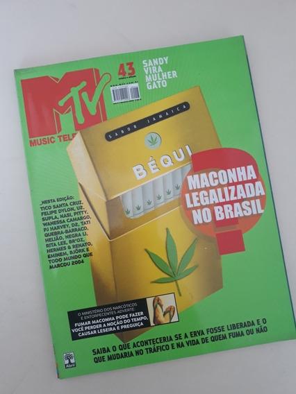 Revista Mtv 43 - Sandy Rita Lee Tico Santa Cruz Wanessa