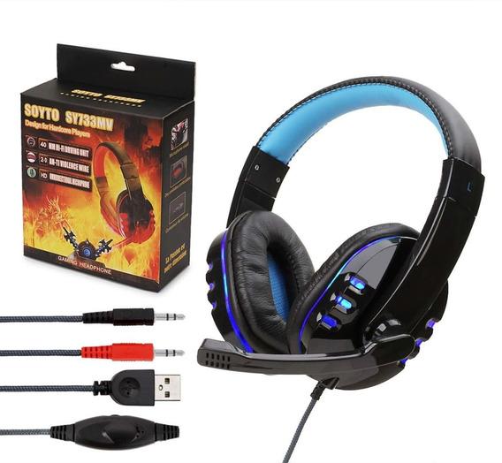 Audífonos Para Videojuegos Con Micrófono Compatible C/pc/ps4