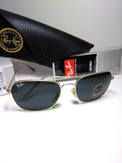 Óculos De Sol Ray Ban Caravan Rb3136 Masculino 58mm Classico